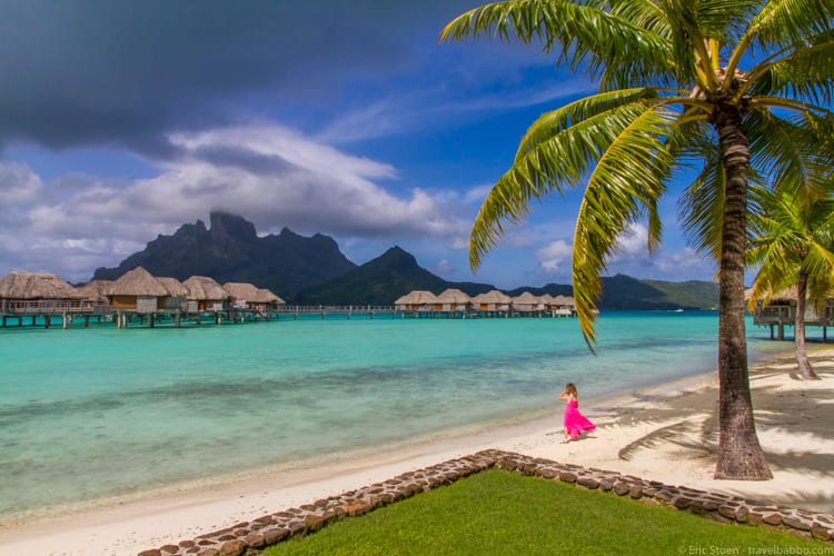 Best Age to Travel - In Bora Bora