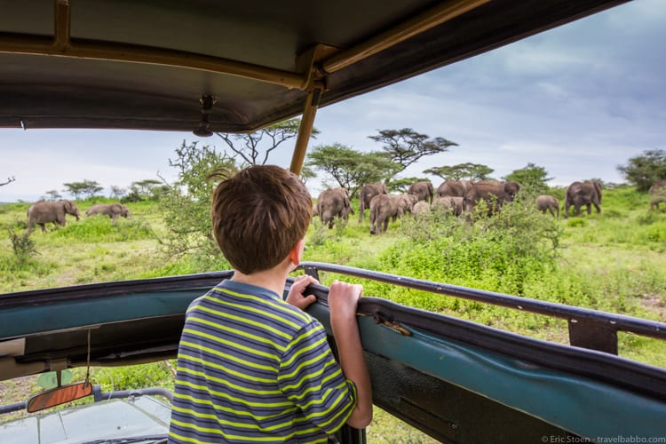 Best Age to Travel - On safari at Lake Ndutu, Tanzania
