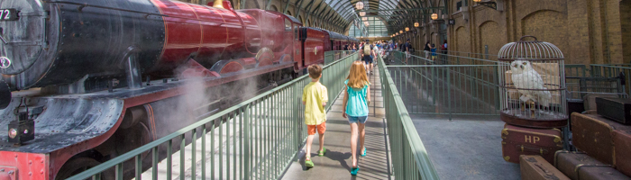 Wizarding World of Harry Potter, King's Cross, Hogwarts Express, Universal Orlando