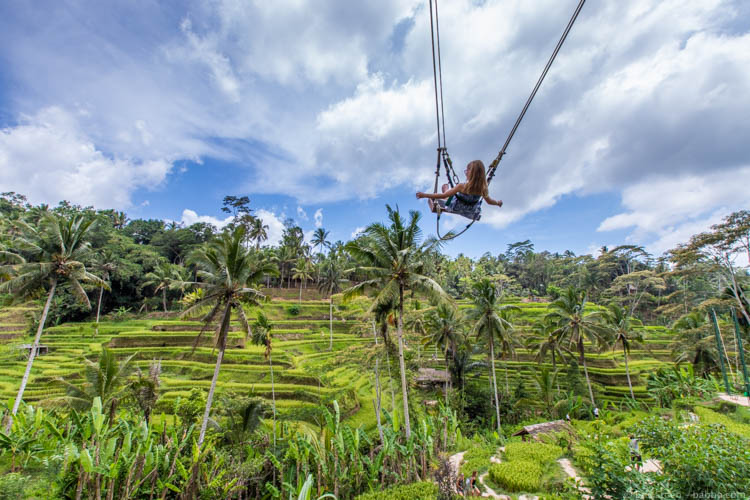Bali with Kids - Swinging!