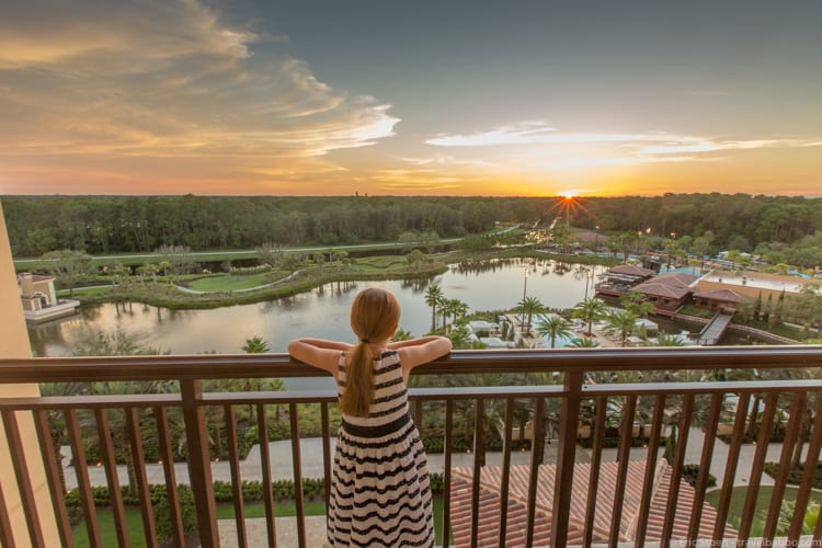 Four Seasons Orlando - And at sunset