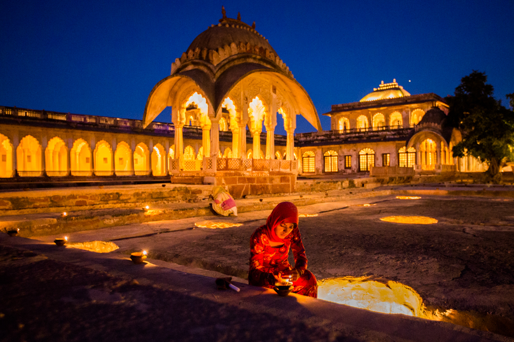 Places to see in India: Lighting candles for the World Sacred Spirit Festival, Nagaur
