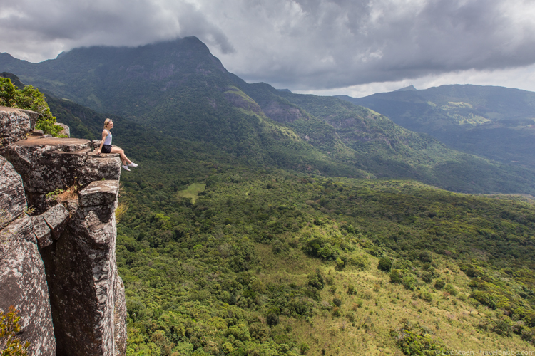 Places to go in Sri Lanka:Knuckles Mountain Range overlook.