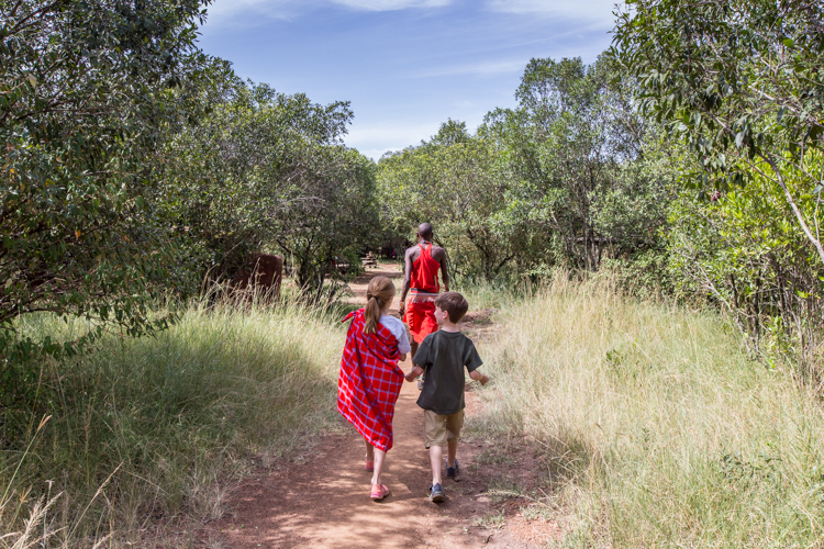 Best Kid Activities - A nature walk with Siruni in the Maasai Mara
