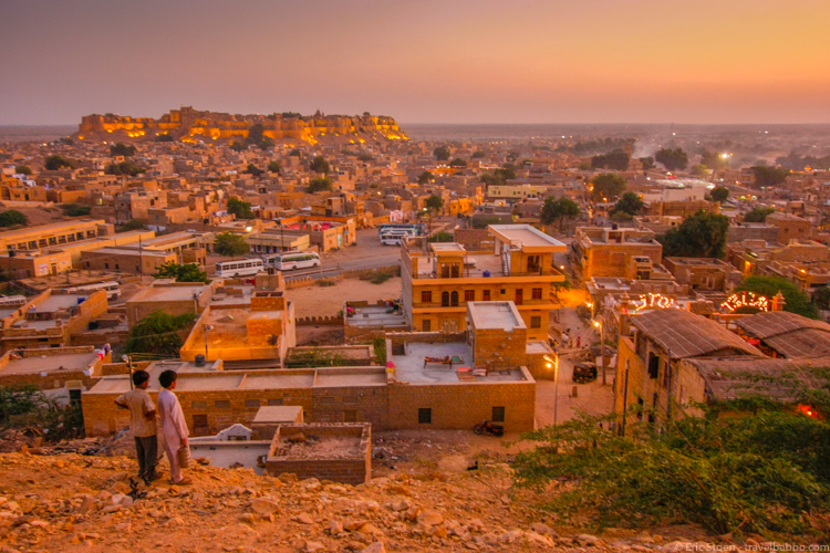 Photo expeditions - Overlooking Jaisalmer, India