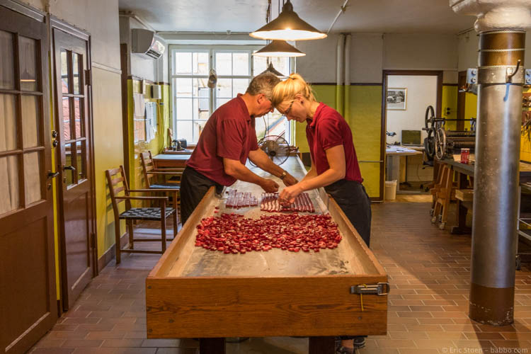 Kid-Friendly European Cities - Copenhagen - Candy being made at Sømods Bolcher