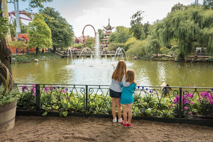 Kid-Friendly European Cities - Copenhagen - At Tivoli Gardens