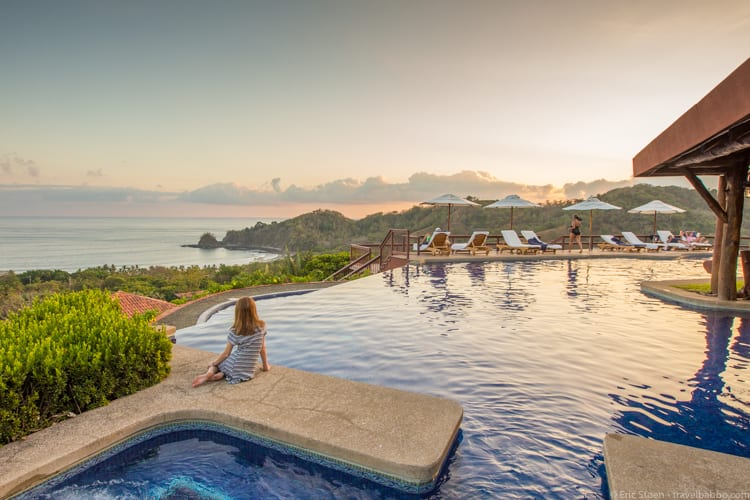Costa Rica with Kids: Evening at the Hotel Punta Islita
