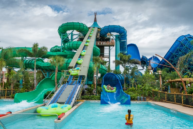 Volcano Bay: The Honu ika Moana slides