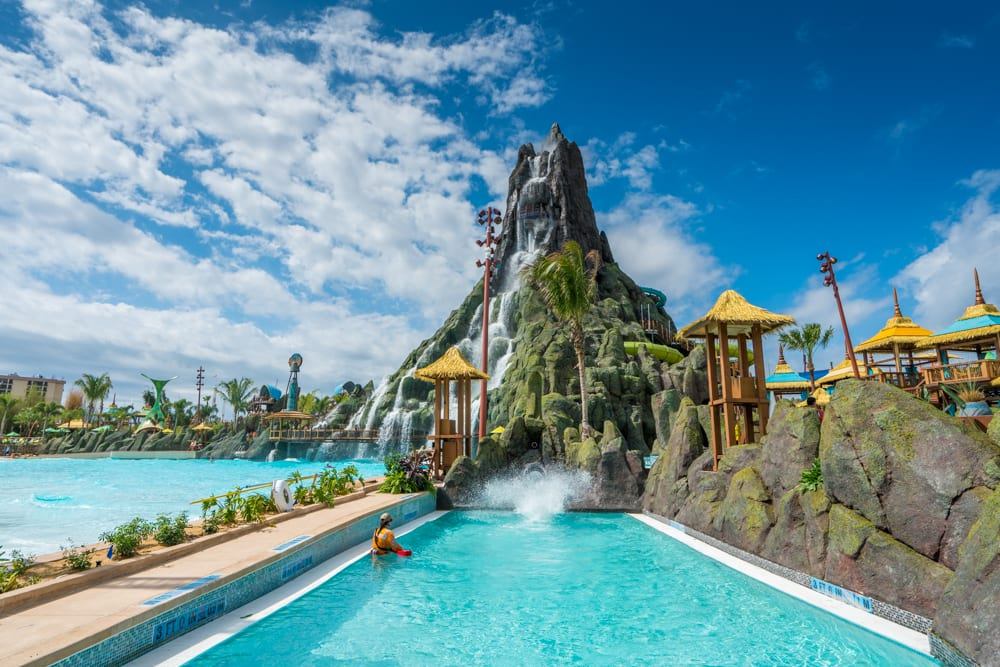 Volcano Bay: Trap Door Slide