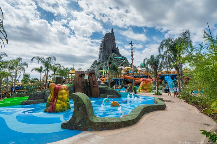 Volcano Bay: The Runamukka Reef kids play area