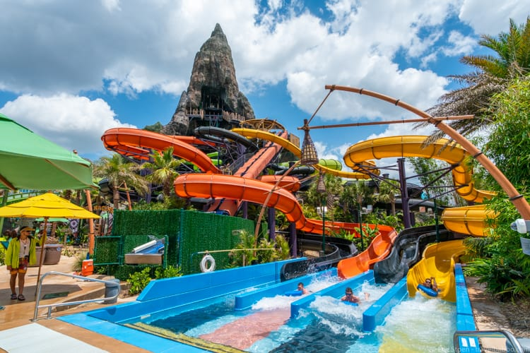 Volcano Bay: The Punga Racers. Race your friends!