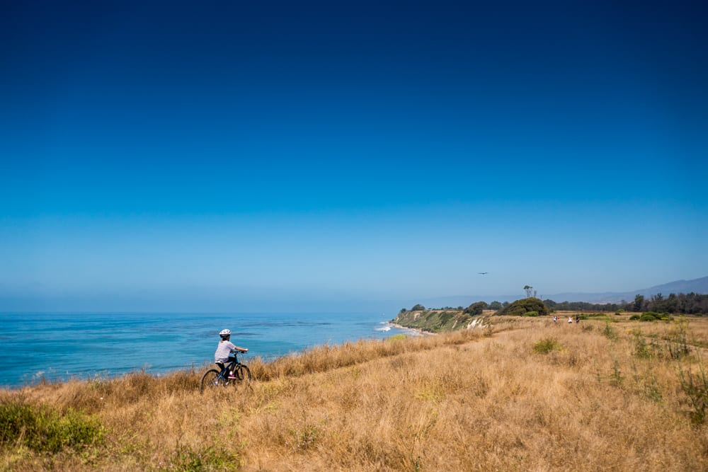 Mountain biking in Santa Barbara