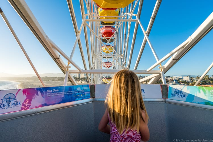 California Road Trip - On the Pacific Wheel - the world's only solar-powered Ferris wheel