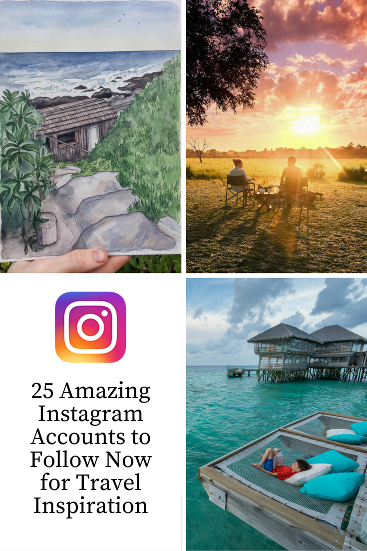 Want travel inspiration? Here are 25 excellent accounts to follow on Instagram right now.