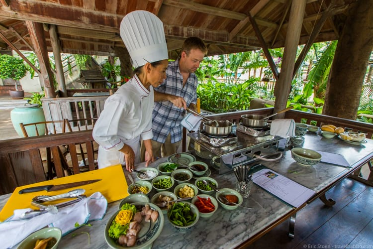 Bangkok layover - My cooking class at Peninsula Bangkok