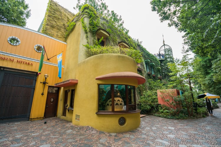 Tokyo with Kids - The Ghibli Museum. Um, where's the ticket window?