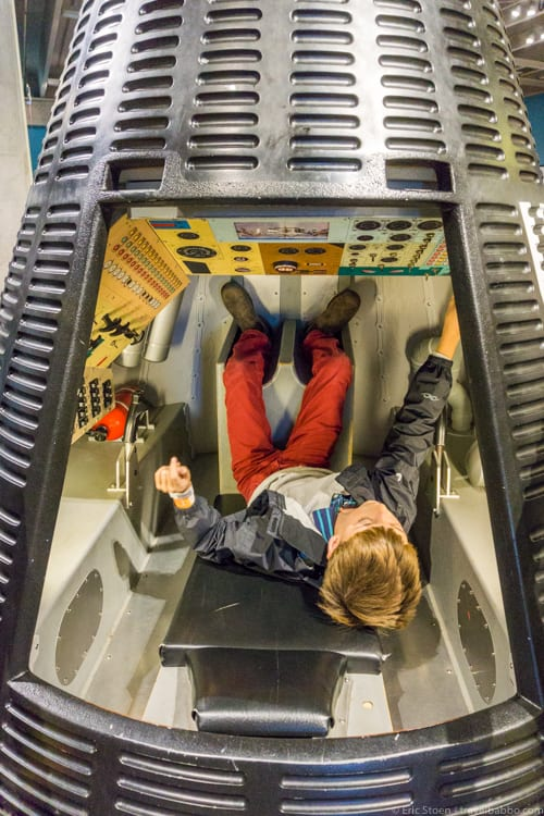 Cleveland with Kids: Learning to control a spacecraft at the NASA Glenn Visitor Center