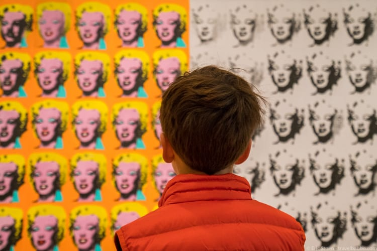 Cleveland with Kids: Warhol