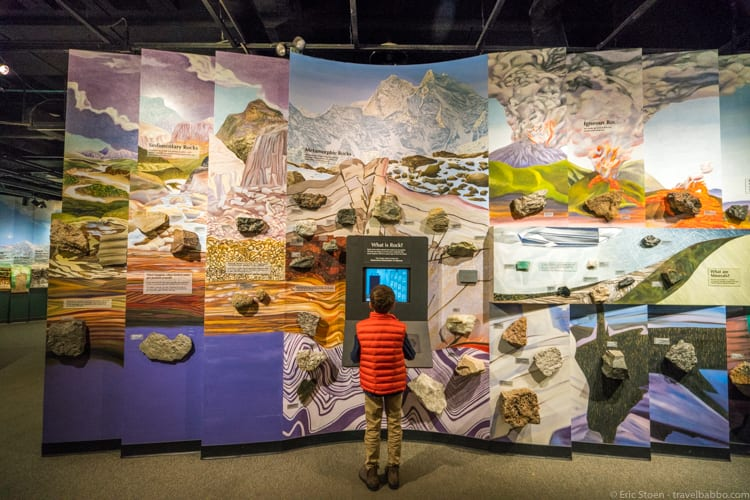 Cleveland with Kids: Studying rocks at the Cleveland Museum of Natural History