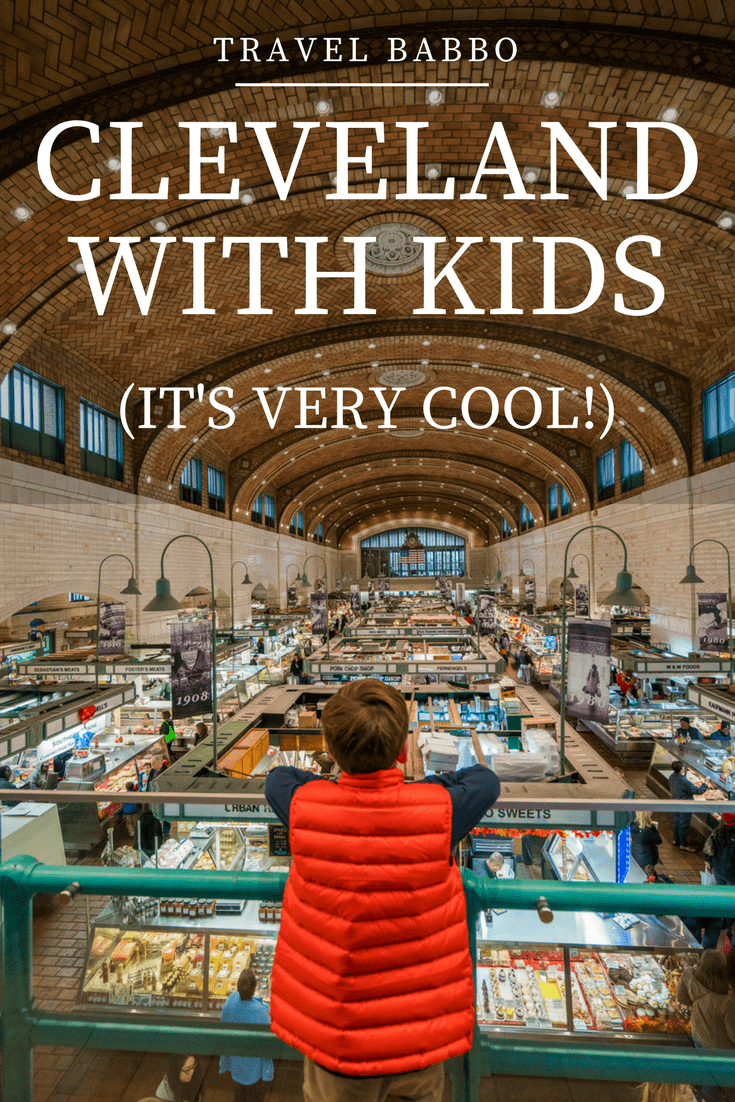Cleveland with kids! It's a perfect weekend destination. Here's what to do, where to stay, and where to eat.