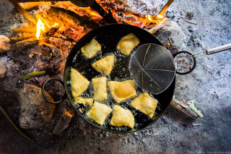 Patagonia Adventure: Amazing fried bread