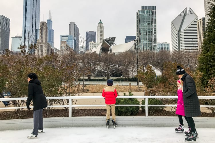 Chicago with kids: Taking a break - with a view!