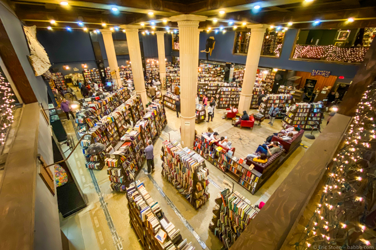 LA with kids - The Last Bookstore in Los Angeles
