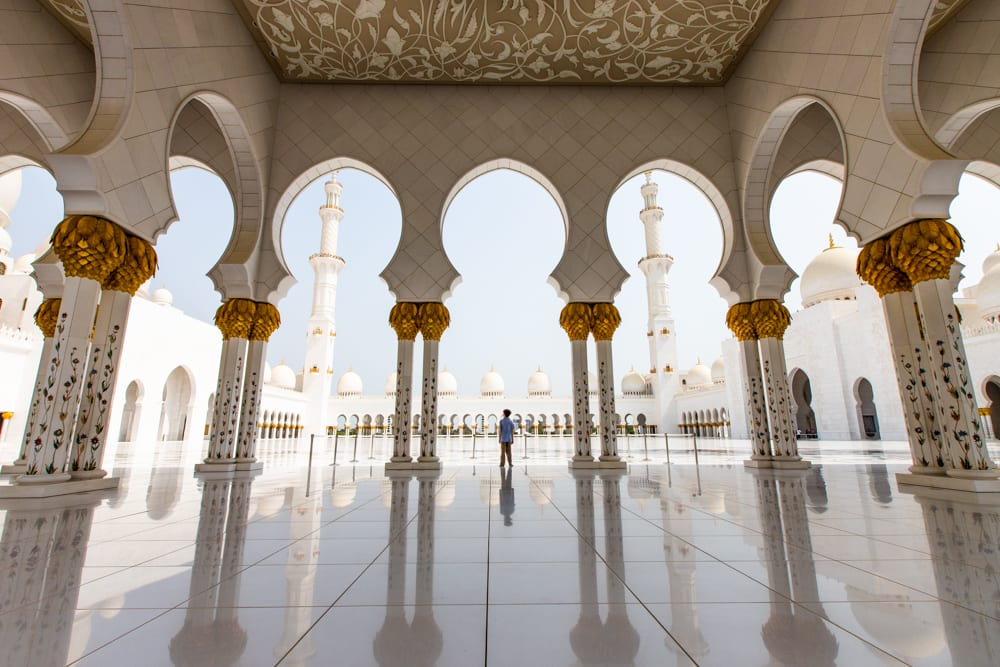 Around the world - The Sheikh Zayed Mosque