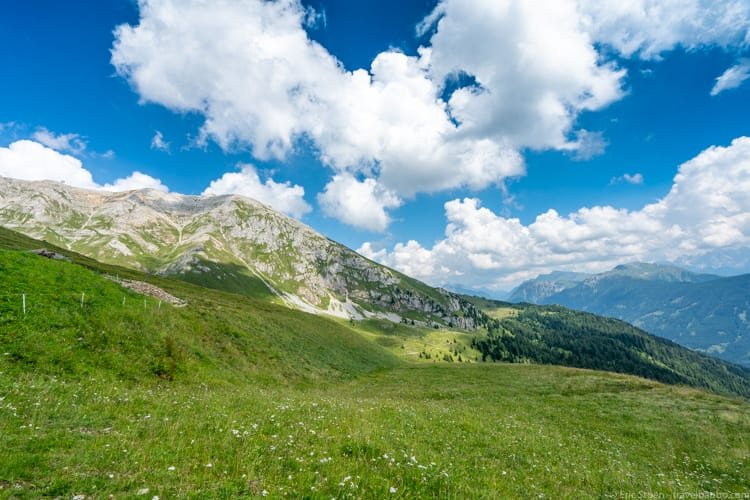 Dolomites with kids: The view from the top