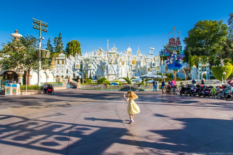 How much does a Disneyland Vacation Cost? At It's a Small World