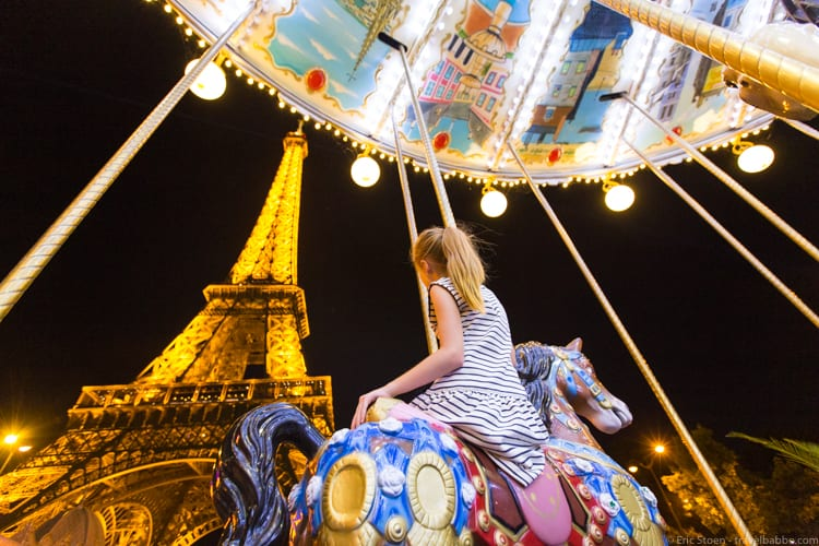 How much does a Disneyland Vacation Cost? Paris has carousels. Just like Disneyland, but better!