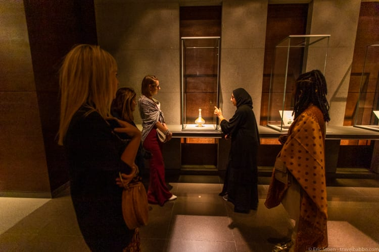 Things to do in Qatar - On our tour of the Museum of Islamic Art with Salma