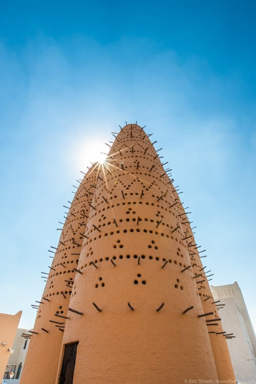 Things to do in Qatar - Pigeon houses in Katara