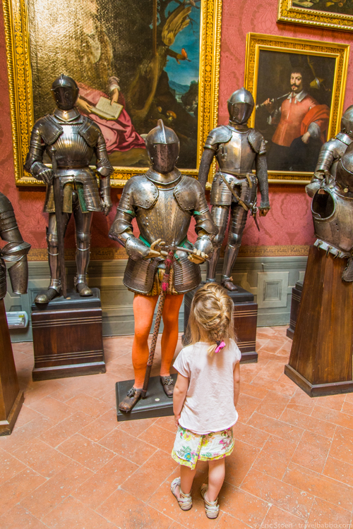 Things to do in Florence with kids - At the Stibbert Museum