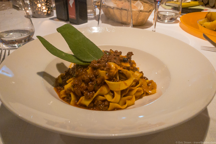 Best restaurants in Florence - The crazy good cinghiale at La Buchetta