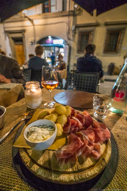Best restaurants in Florence - Coccoli at Tamerò