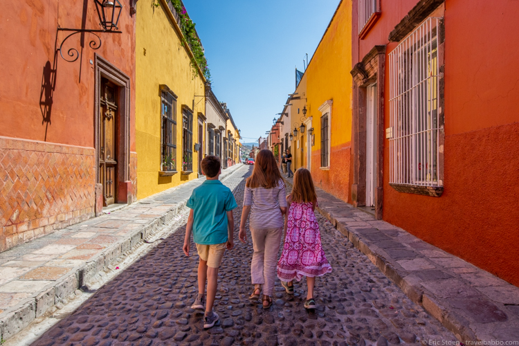 San Miguel de Allende - Walking around San Miguel de Allende