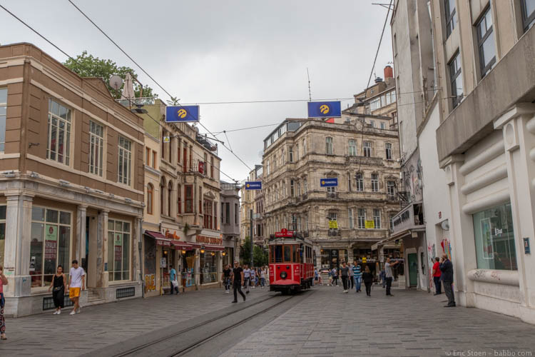 Istanbul with Kids - Istiklal Caddesi