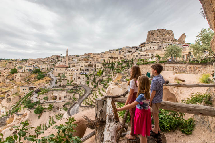 Best counties to visit - Turkey - Overlooking Cappadocia