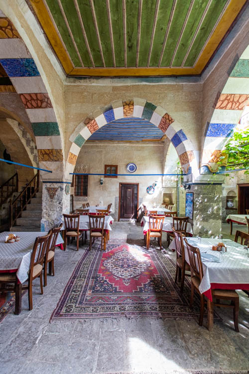 Cappadocia with Kids - The Old Greek House