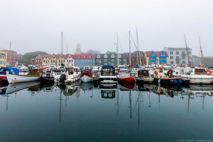 Faroe Islands - Reflections in Torshavn