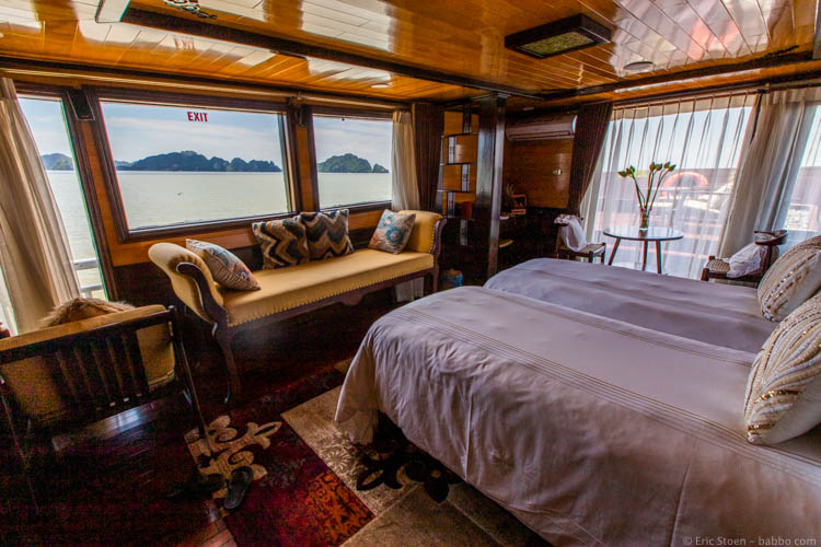 Asian countries - Vietnam - Our Hera Cruises cabin