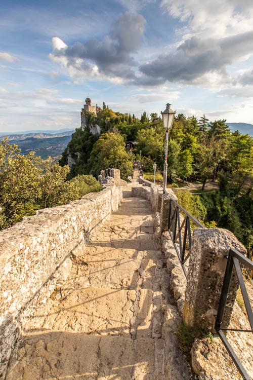 San Marino - The Witches' Path to Cesta Tower