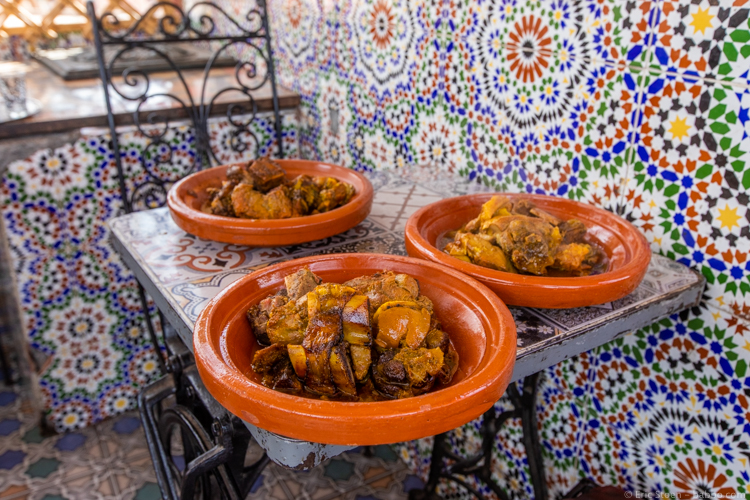 Morocco with Kids - Moroccan portions are huge!