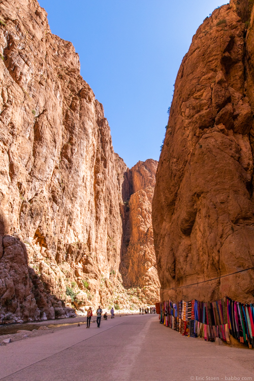 Morocco with Kids - Todra Gorge