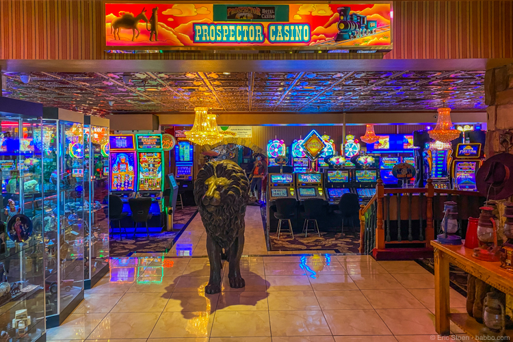Colorado Road Trip - The Prospector Hotel and Gambling Hall looks exactly like you think it would!